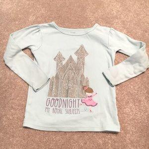🌿8/$45🌿 Princess Pajama Shirt 4T